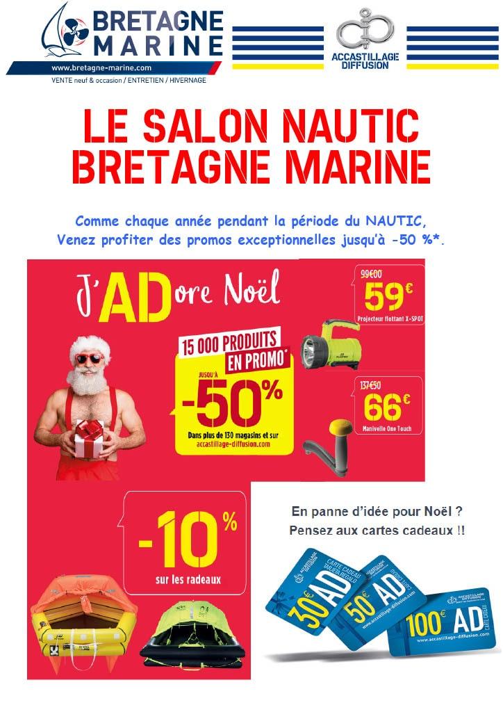 LE SALON NAUTIC CHEZ BRETAGNE MARINE
