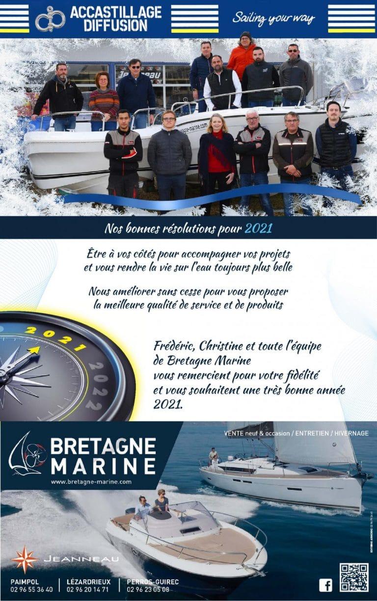 Bretagne Marine vous souhaite ses meilleurs vœux!