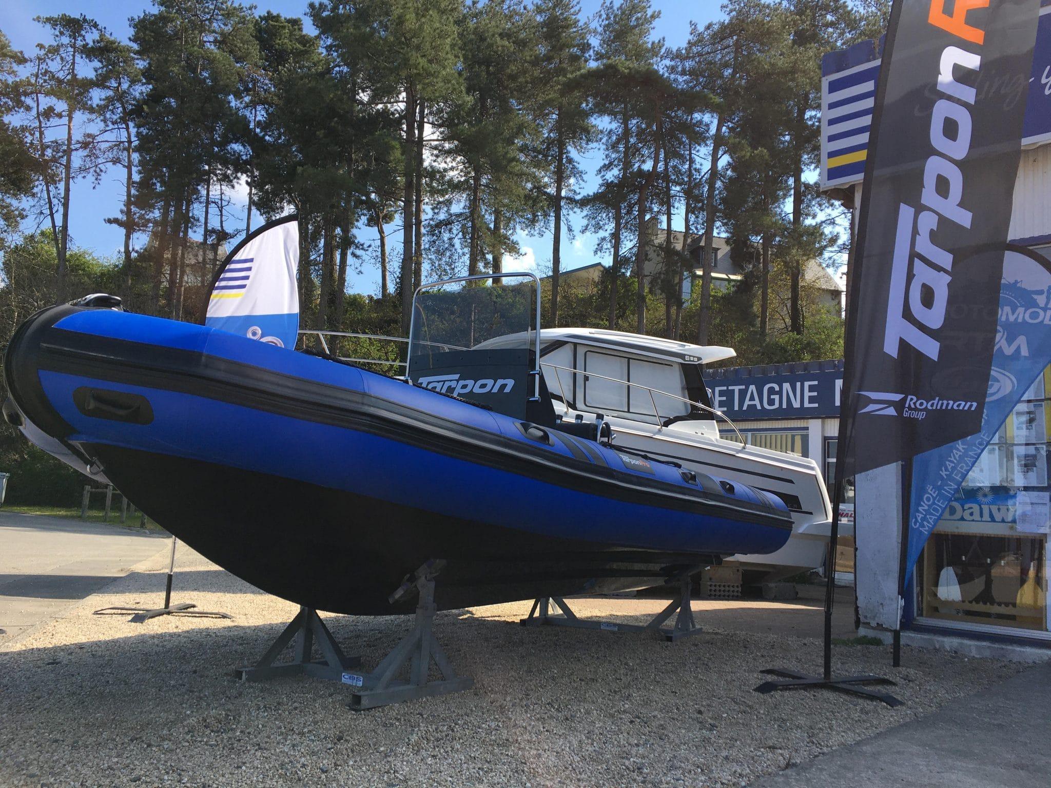 Les semi-rigides Tarpon débarquent chez Bretagne Marine!